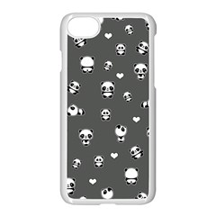 Panda Pattern Apple Iphone 7 Seamless Case (white)