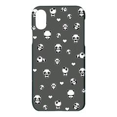 Panda Pattern Apple Iphone X Hardshell Case