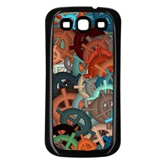 Fun,fantasy And Joy 2 Samsung Galaxy S3 Back Case (black)