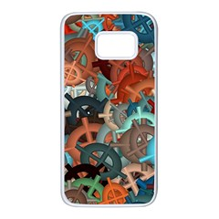 Fun,fantasy And Joy 2 Samsung Galaxy S7 White Seamless Case