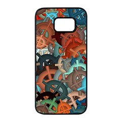 Fun,fantasy And Joy 2 Samsung Galaxy S7 Edge Black Seamless Case