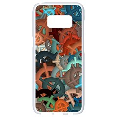 Fun,fantasy And Joy 2 Samsung Galaxy S8 White Seamless Case