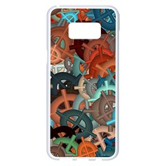 Fun,fantasy And Joy 2 Samsung Galaxy S8 Plus White Seamless Case