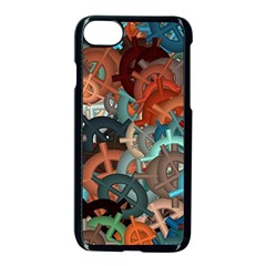 Fun,fantasy And Joy 2 Apple Iphone 8 Seamless Case (black)