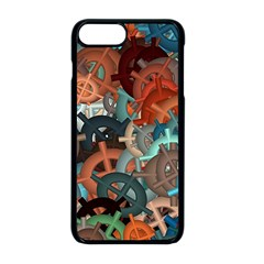 Fun,fantasy And Joy 2 Apple Iphone 8 Plus Seamless Case (black)