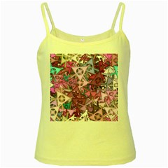 Fun,fantasy And Joy 7 Yellow Spaghetti Tank
