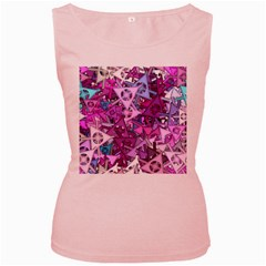 Fun,fantasy And Joy 7 Women s Pink Tank Top