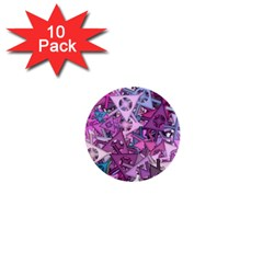 Fun,fantasy And Joy 7 1  Mini Buttons (10 Pack)