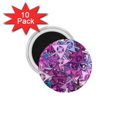 Fun,fantasy And Joy 7 1 75  Magnets (10 Pack)
