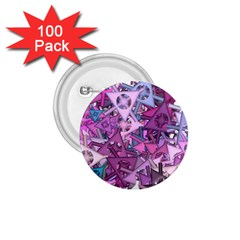 Fun,fantasy And Joy 7 1 75  Buttons (100 Pack)