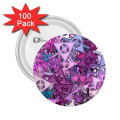 Fun,fantasy And Joy 7 2 25  Buttons (100 Pack)