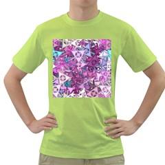 Fun,fantasy And Joy 7 Green T Shirt