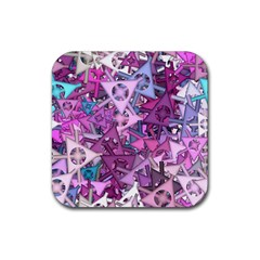 Fun,fantasy And Joy 7 Rubber Square Coaster (4 Pack)