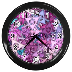 Fun,fantasy And Joy 7 Wall Clocks (black)