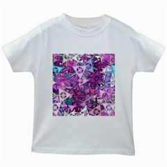 Fun,fantasy And Joy 7 Kids White T Shirts