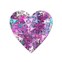 Fun,fantasy And Joy 7 Heart Magnet