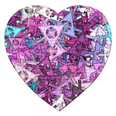 Fun,fantasy And Joy 7 Jigsaw Puzzle (heart)