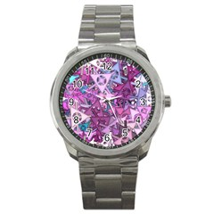 Fun,fantasy And Joy 7 Sport Metal Watch