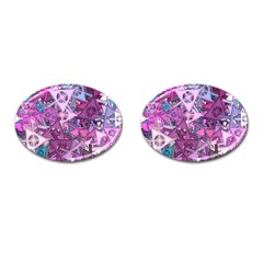 Fun,fantasy And Joy 7 Cufflinks (oval)