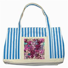 Fun,fantasy And Joy 7 Striped Blue Tote Bag