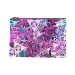 Fun,fantasy And Joy 7 Cosmetic Bag (large)