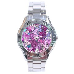 Fun,fantasy And Joy 7 Stainless Steel Analogue Watch