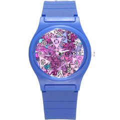 Fun,fantasy And Joy 7 Round Plastic Sport Watch (s)