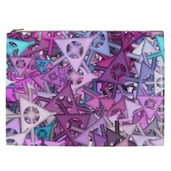 Fun,fantasy And Joy 7 Cosmetic Bag (xxl)