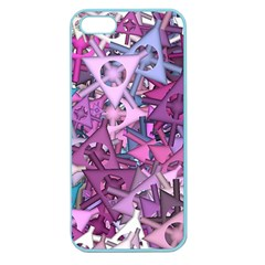 Fun,fantasy And Joy 7 Apple Seamless Iphone 5 Case (color)