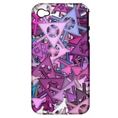 Fun,fantasy And Joy 7 Apple Iphone 4/4s Hardshell Case (pc+silicone)