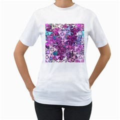 Fun,fantasy And Joy 7 Women s T Shirt (white)