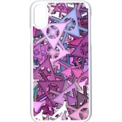 Fun,fantasy And Joy 7 Apple Iphone X Seamless Case (white)