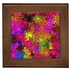Fun,fantasy And Joy 5 Framed Tiles