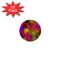 Fun,fantasy And Joy 5 1  Mini Buttons (10 Pack)