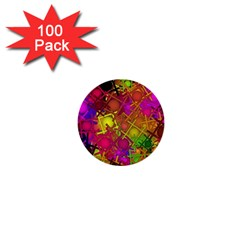 Fun,fantasy And Joy 5 1  Mini Buttons (100 Pack)