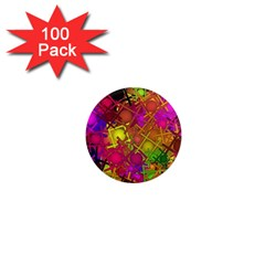 Fun,fantasy And Joy 5 1  Mini Magnets (100 Pack)