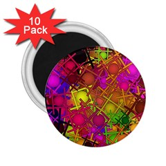 Fun,fantasy And Joy 5 2 25  Magnets (10 Pack)