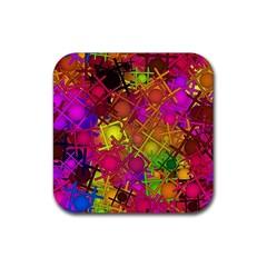 Fun,fantasy And Joy 5 Rubber Coaster (square)