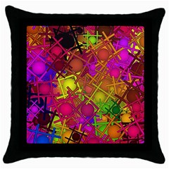 Fun,fantasy And Joy 5 Throw Pillow Case (black)