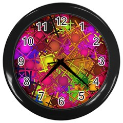 Fun,fantasy And Joy 5 Wall Clocks (black)