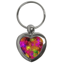 Fun,fantasy And Joy 5 Key Chains (heart)