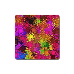 Fun,fantasy And Joy 5 Square Magnet