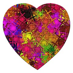 Fun,fantasy And Joy 5 Jigsaw Puzzle (heart)