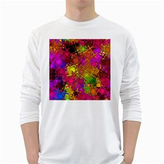 Fun,fantasy And Joy 5 White Long Sleeve T Shirts