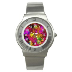Fun,fantasy And Joy 5 Stainless Steel Watch