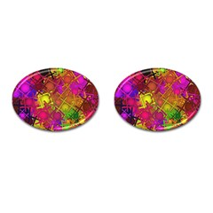 Fun,fantasy And Joy 5 Cufflinks (oval)