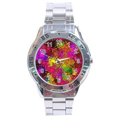Fun,fantasy And Joy 5 Stainless Steel Analogue Watch