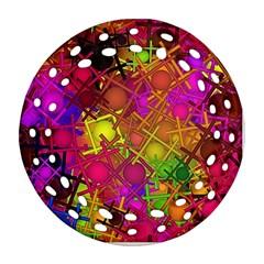 Fun,fantasy And Joy 5 Ornament (round Filigree)