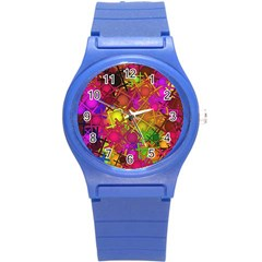 Fun,fantasy And Joy 5 Round Plastic Sport Watch (s)