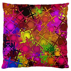 Fun,fantasy And Joy 5 Large Cushion Case (one Side)